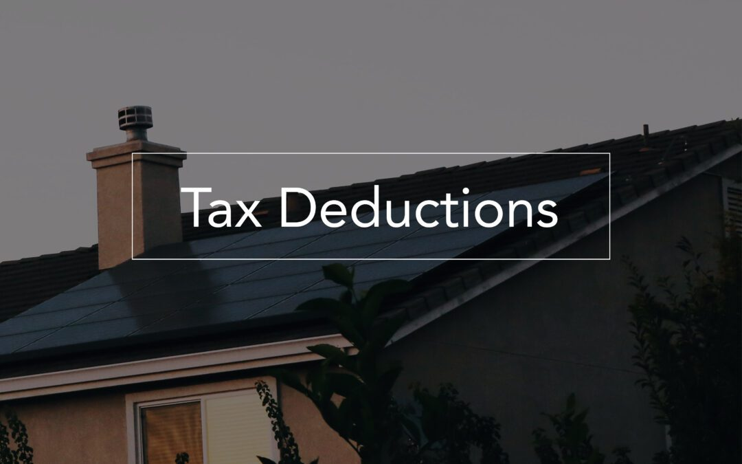 Tax Deductions: 50% for renovation, 65% for efficiency streamlining